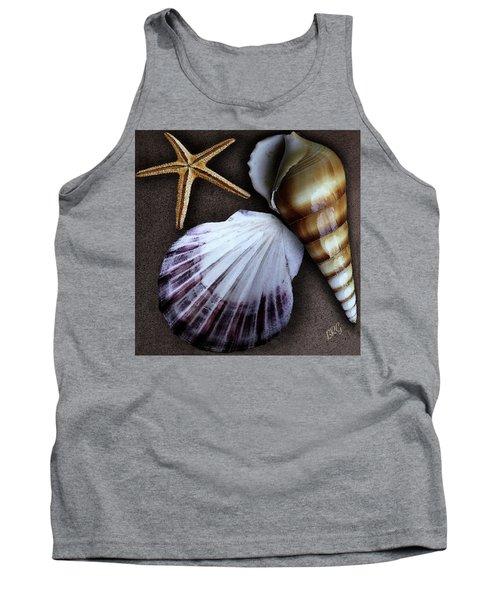 Seashells Spectacular No 37 Tank Top