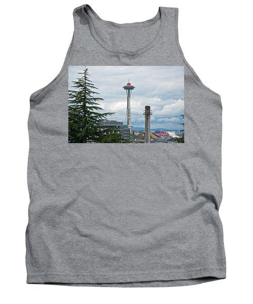 Seattle Spaceneedle Golden Anniversary Art Prints Tank Top