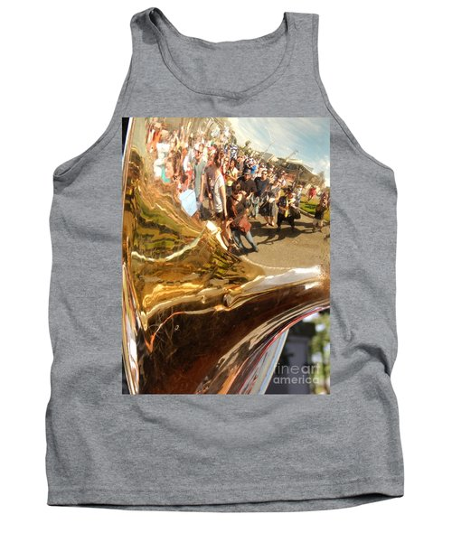 Second Line Tuba Tank Top