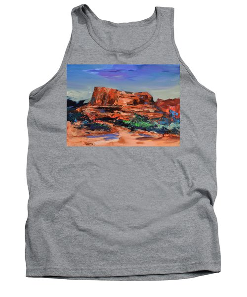 Courthouse Butte Rock - Sedona Tank Top
