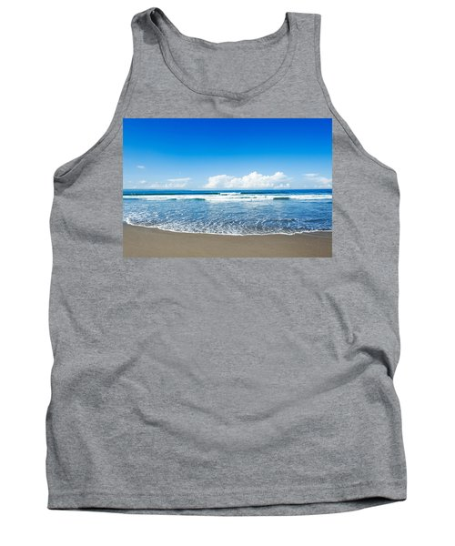 Tank Top featuring the photograph Seminyak Beach by Yew Kwang