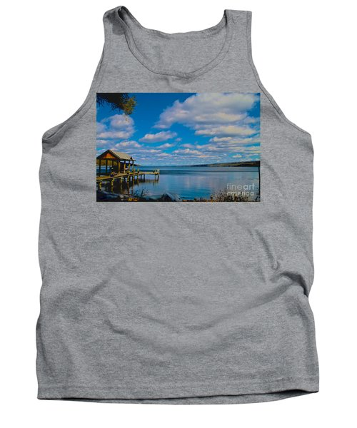 Seneca Lake At Glenora Point Tank Top