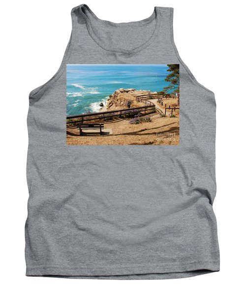 A Place To Relax Tank Top by Claudia Ellis