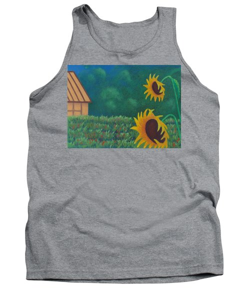 Sergi's Sunflowers Tank Top