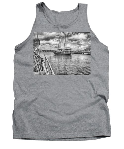 Tank Top featuring the photograph Setting Sail by Howard Salmon