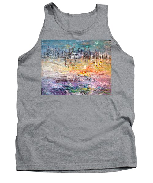 Shallow Water - Sold Tank Top by George Riney