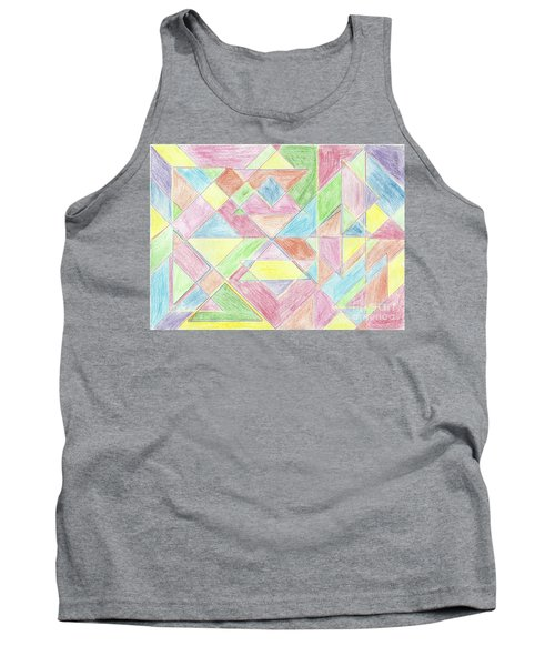 Shapes Of Colour Tank Top