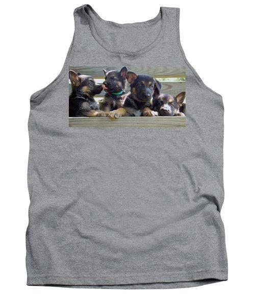 Shepherd Pups 5 Tank Top