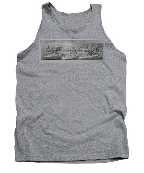 Tank Top featuring the digital art Ships by Cathy Anderson