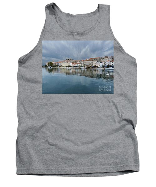 Tank Top featuring the photograph Sibenik Waterfront - Croatia by Phil Banks