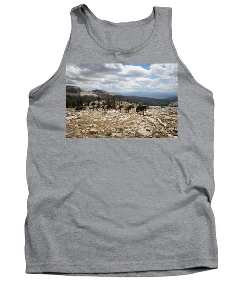 Sierra Trail Tank Top by Diane Bohna