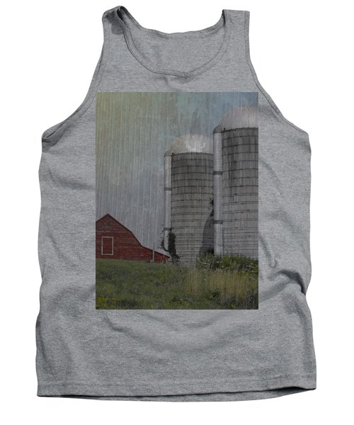 Silo And Barn Tank Top by Photographic Arts And Design Studio