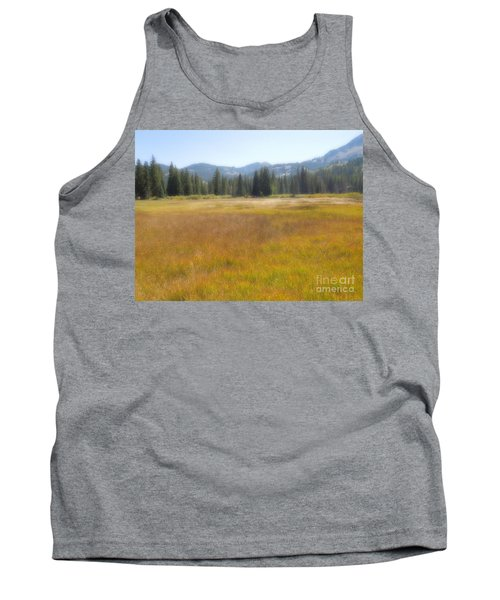 Tank Top featuring the photograph Silver Lake Area Big Cottonwood Canyon Utah by Richard W Linford