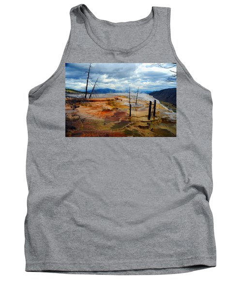 Simmering Color Tank Top