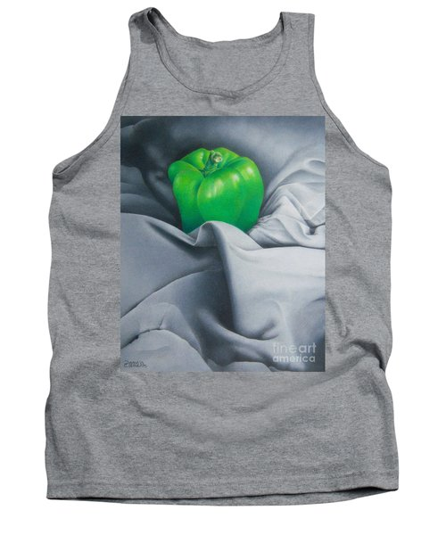 Simply Green Tank Top by Pamela Clements