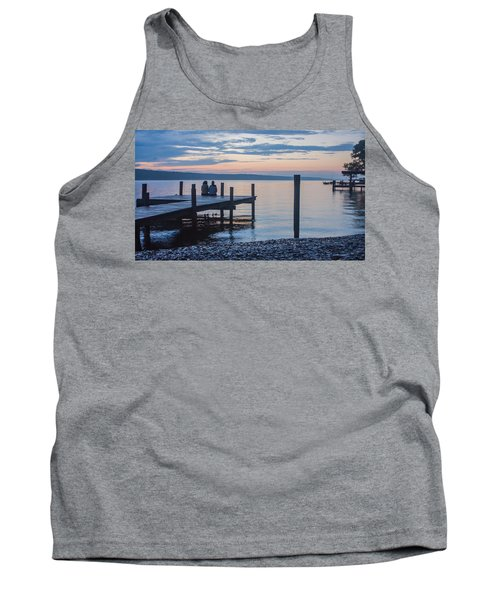 Sisters - Lakeside Living At Sunset Tank Top