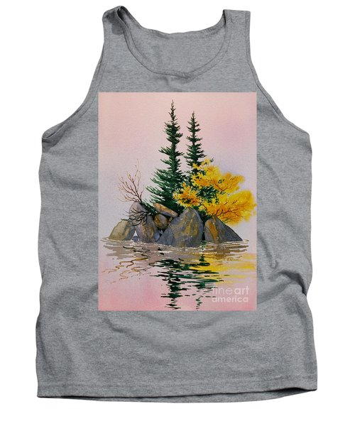 Tank Top featuring the painting Sitka Isle by Teresa Ascone