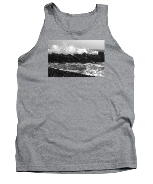 Tank Top featuring the photograph Skagen Waves by Randi Grace Nilsberg