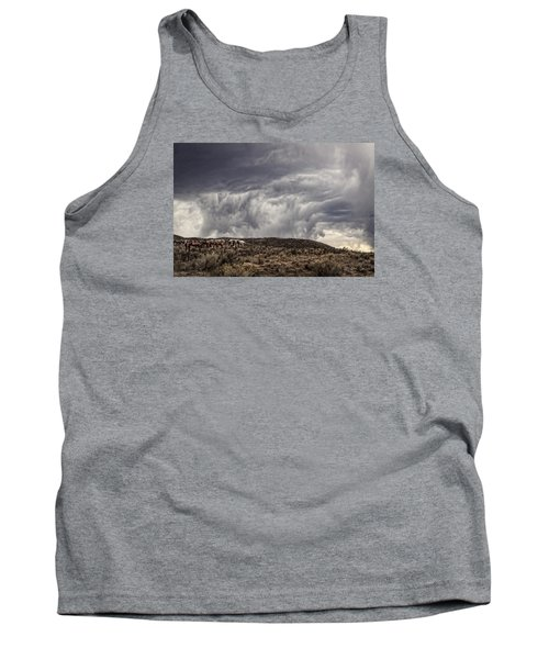 Skirting The Storm Tank Top