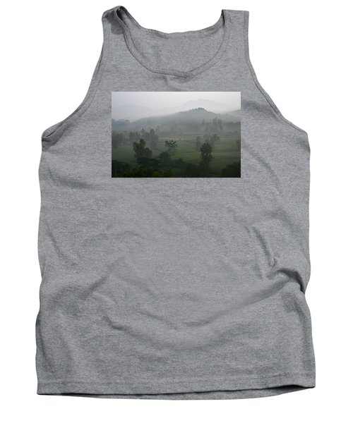 Tank Top featuring the photograph Skc 0079 A Winter Morning by Sunil Kapadia