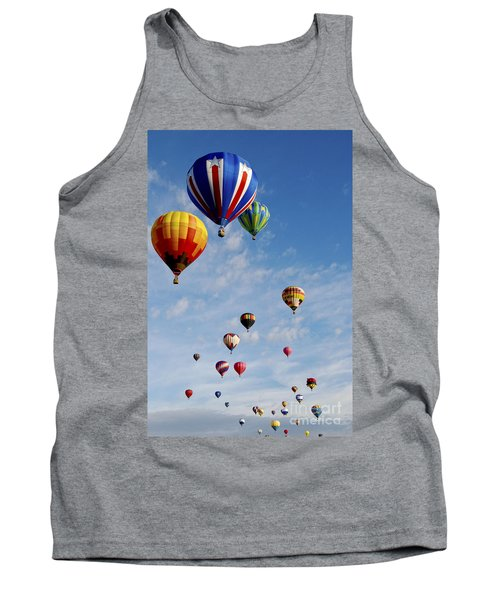 Tank Top featuring the photograph Skyward Bound by Gina Savage