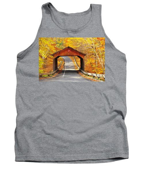 Sleeping Bear National Lakeshore Covered Bridge Tank Top