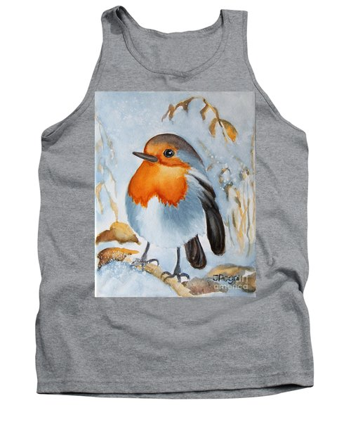 Small Bird Tank Top by Inese Poga