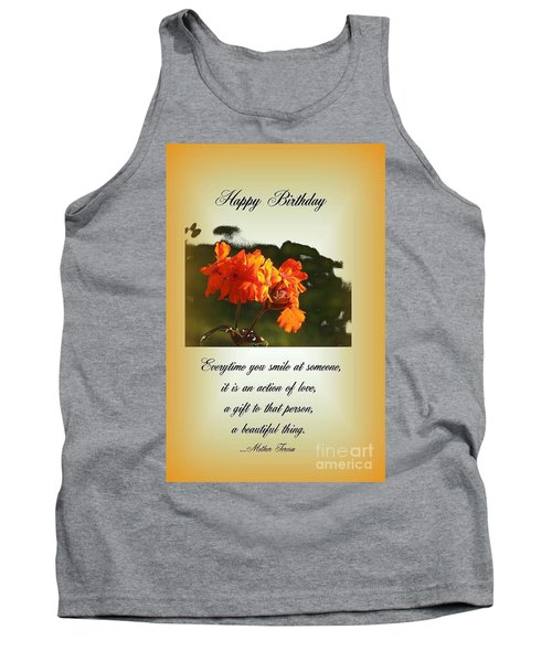 Smile Tank Top by Leone Lund