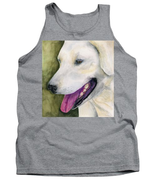 Smiling Lab Tank Top by Stephen Anderson