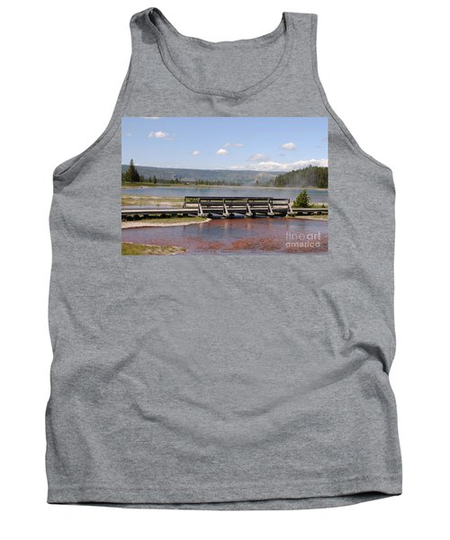Smoke On The Water Tank Top by Mary Carol Story