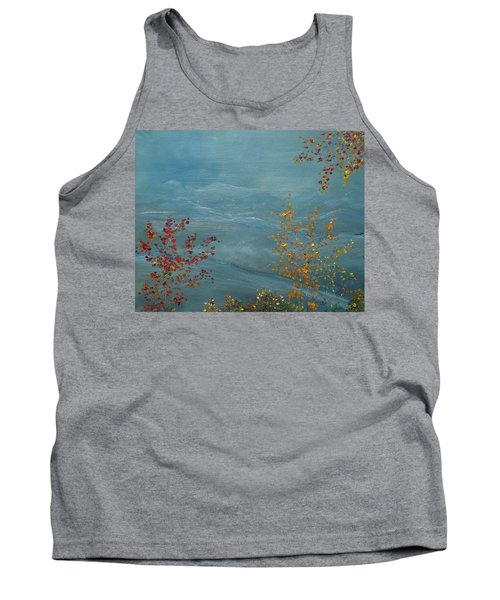 Smoky Mountains In Autumn Tank Top by Judith Rhue