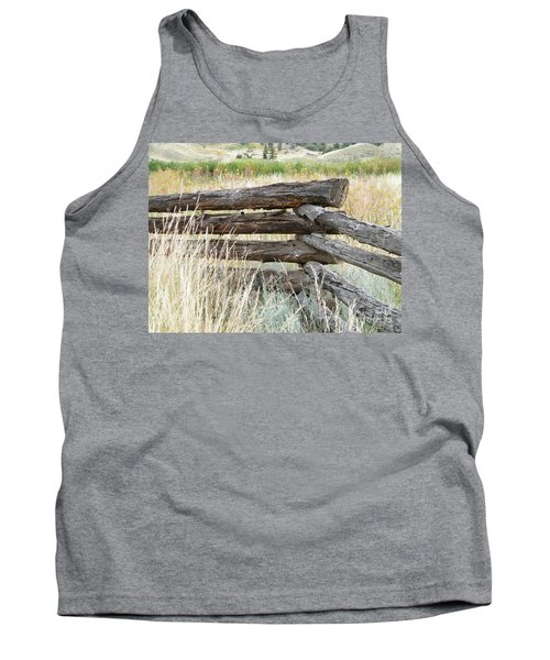 Snake Fence And Sage Brush Tank Top
