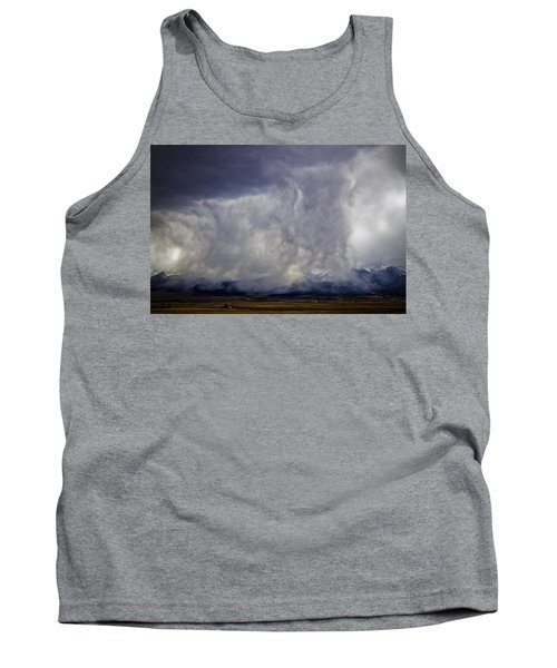 Snow On The Rockies Tank Top by Greg Reed