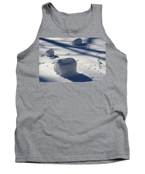 Snow Roller Trio In Shadows Tank Top
