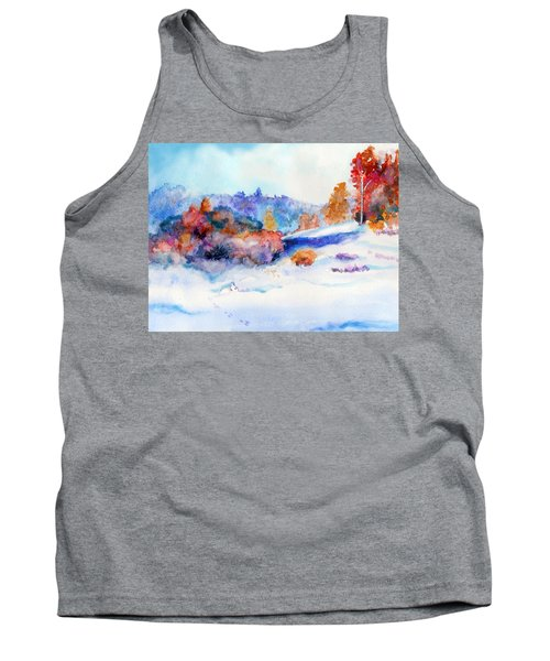 Snowshoe Day Tank Top by C Sitton