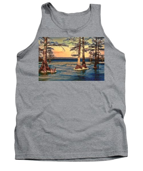 Snowy Reelfoot Tank Top