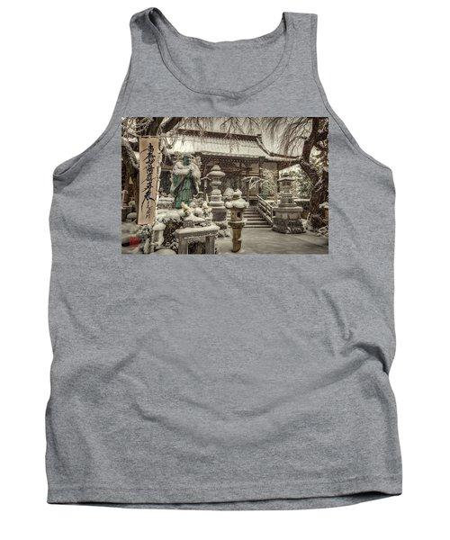 Snowy Temple Tank Top