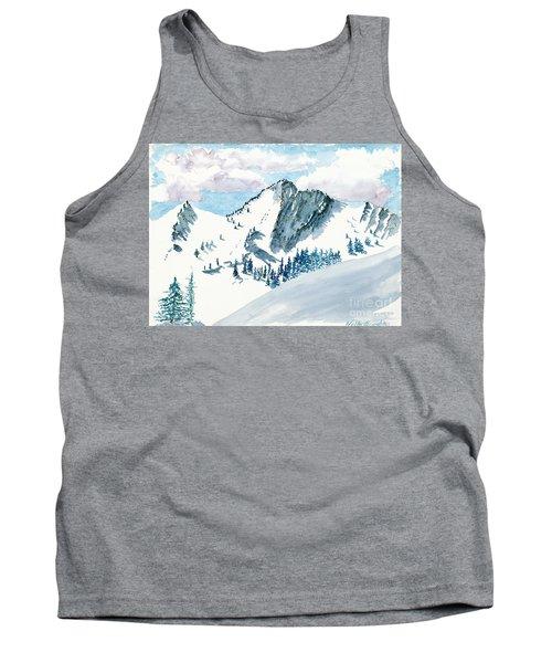 Snowy Wasatch Peak Tank Top