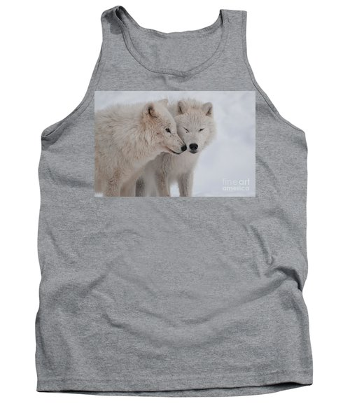 Tank Top featuring the photograph Snuggle Buddies by Bianca Nadeau