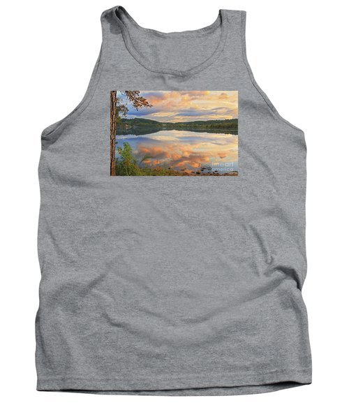Tank Top featuring the photograph Soddy Lake by Geraldine DeBoer