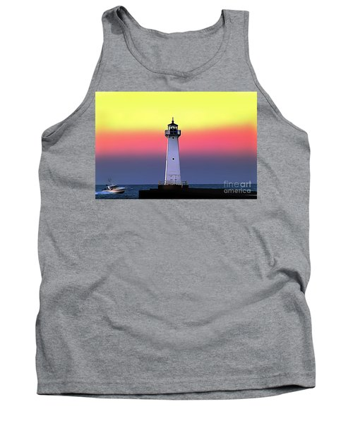 Sodus Outer Lighthouse Tank Top