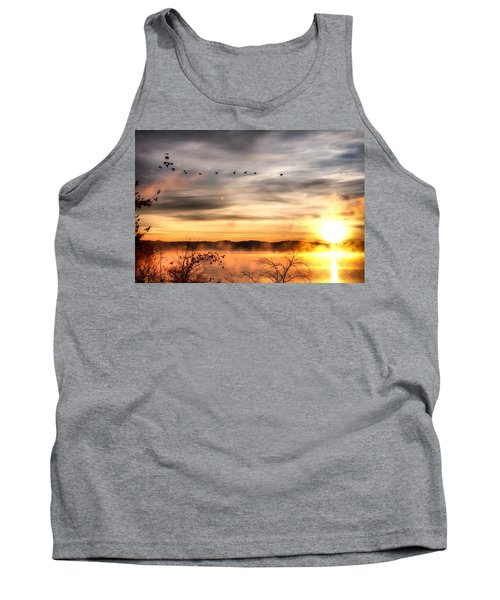 Tank Top featuring the photograph South Carolina Morning by Lynne Jenkins