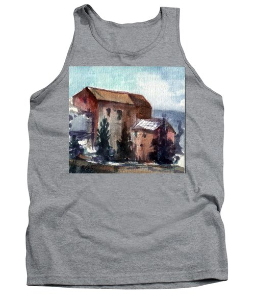 Tank Top featuring the painting South by Mikhail Savchenko