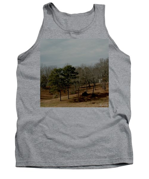 Tank Top featuring the photograph Southern Landscape by Lesa Fine