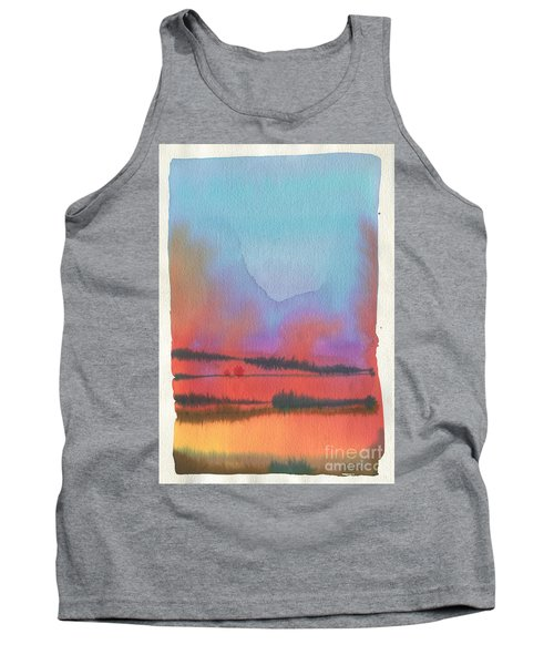 Tank Top featuring the painting Southland by Donald Maier