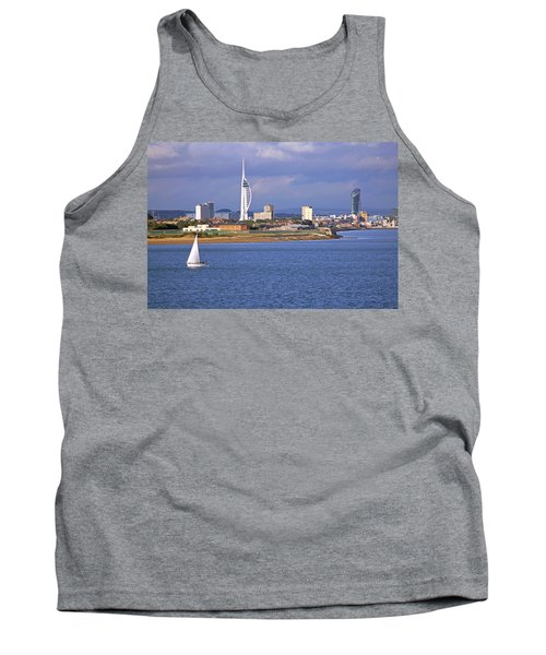 Spinnaker Tower And Gunwharf Quays Tank Top