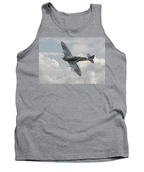 Spitfire - Elegant Icon Tank Top by Pat Speirs
