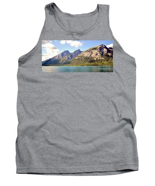 Spray Lake Mountains Tank Top