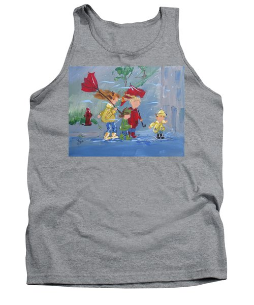 Spring In Our Step Tank Top by Terri Einer