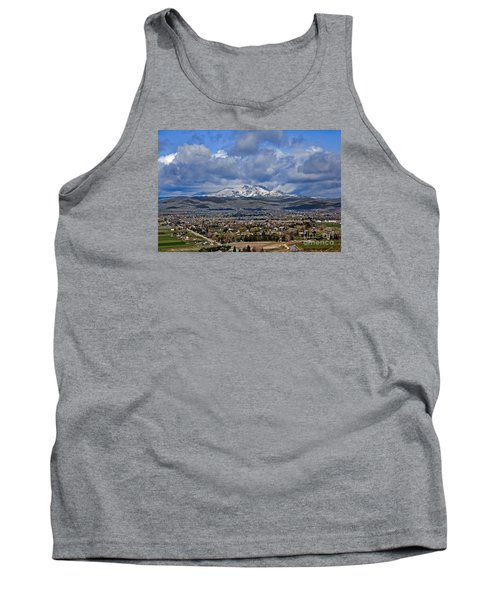 Spring Snow On Squaw Butte Tank Top